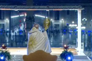 benedizione 'Urbi et Orbi' di Papa Francesco