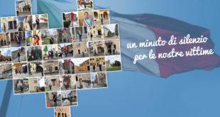Bandiere a mezz'asta e un minuto di silenzio in tutti i Comuni di Piacenza