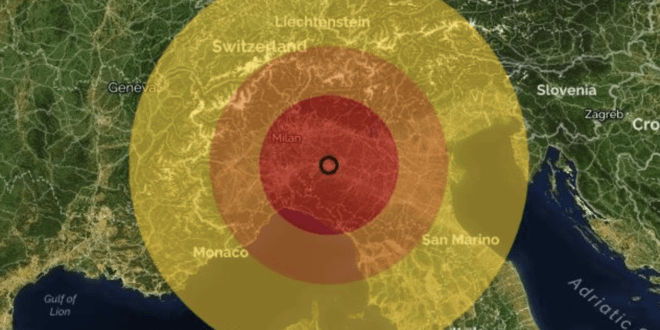 Terremoto Piacenza