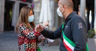 sindaco Gianluca Bacchetta incontra Patrizia Barbieri
