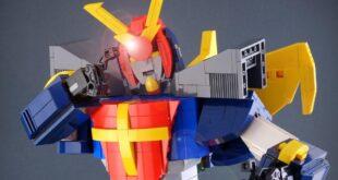 Daitarn III in versione LEGO. Nuova opera dell'artista Marco De Bon