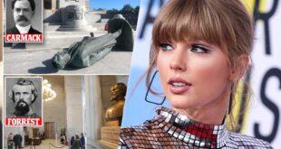 Taylor Swift chiede la rimozione dei monumenti razzisti nel Tennessee