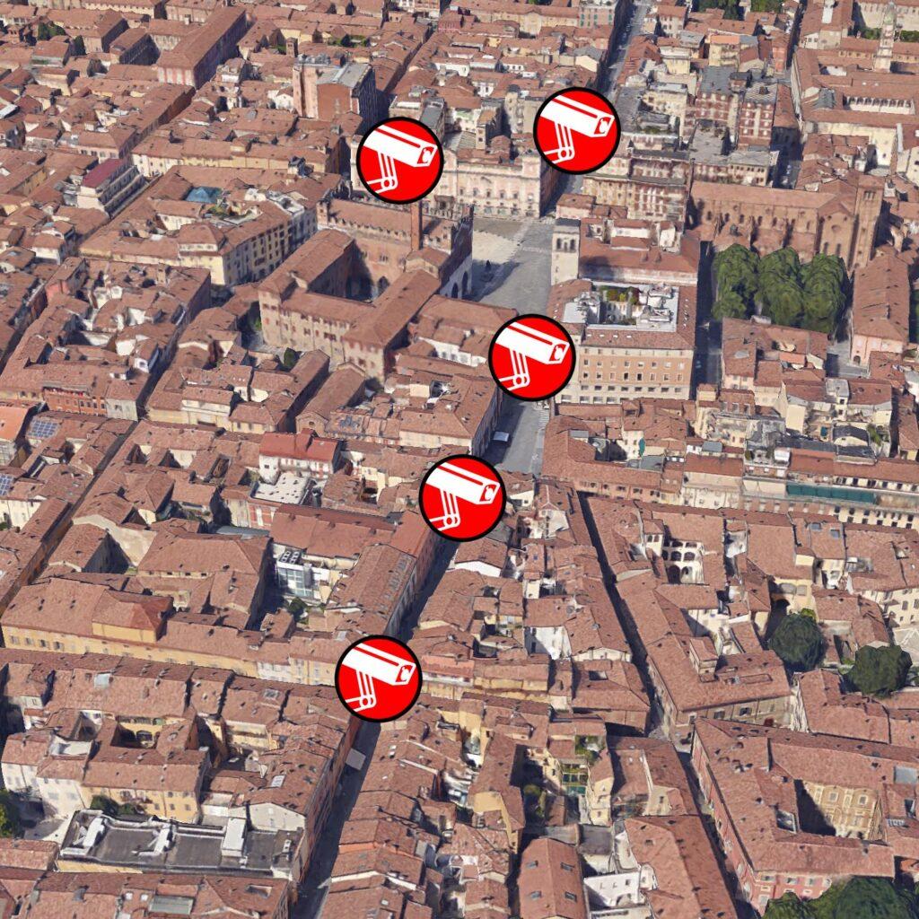 Telecamere ZTL Piacenza