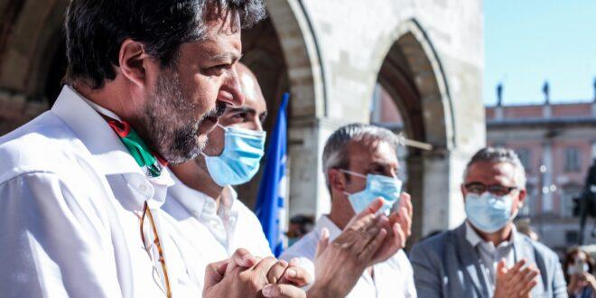 Salvini a Piacenza