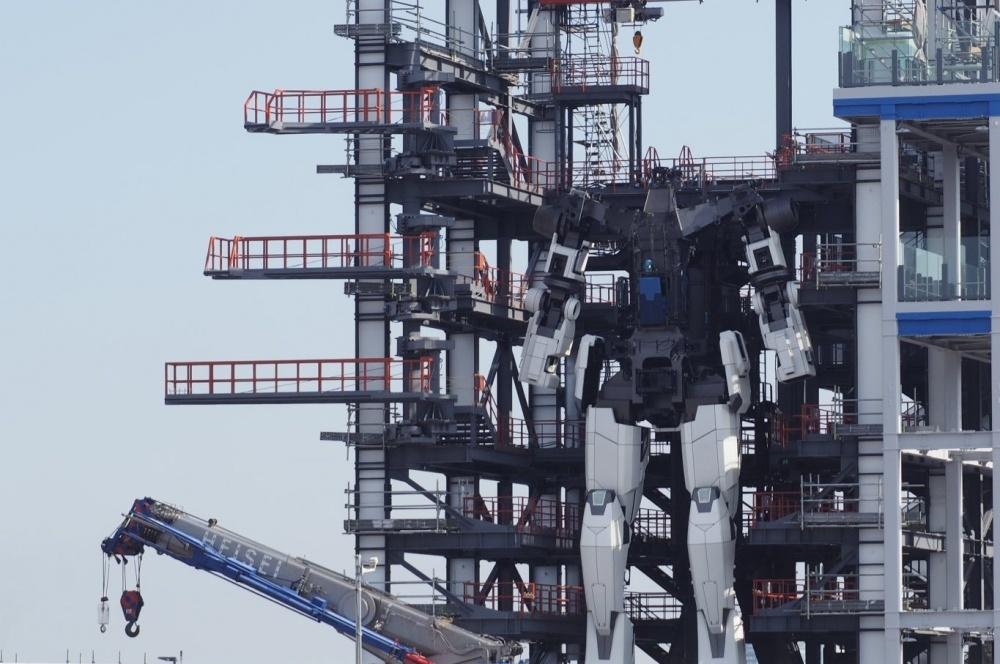 Gundam a grandezza naturale
