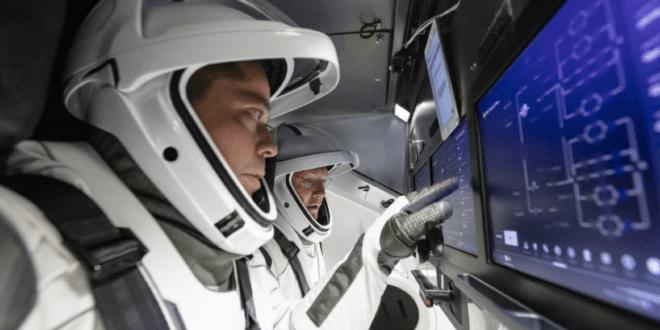 NASA astronauts Robert Behnken and Douglas Hurley