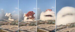 Due forti esplosioni a Beirut