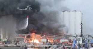 Beirut. 78 morti e 4.000 feriti. Aria tossica per il nitrato di ammonio