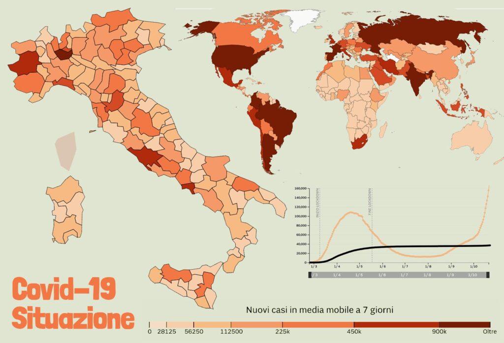Coronavirus Covid19 La situazione oggi in Italia nel Mondo
