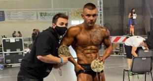 Il Bodybuilder Piacentino Manuel Carini conquista 2 medaglie d'oro e l'accesso ai Campionati Nazionali